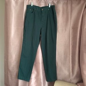 Vintage mom jeans Chic *NWT* high rise 20W green